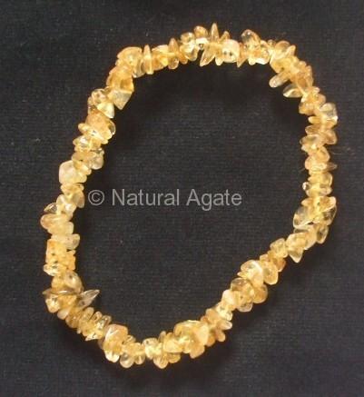 Citrine Chips Bracelet