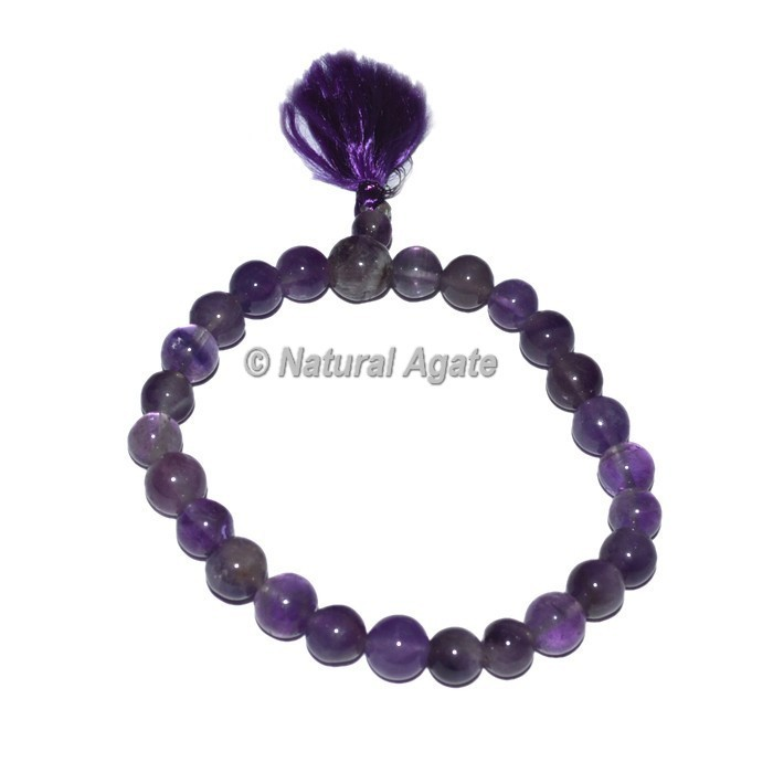 Amethyst Power Crystal Bracelets