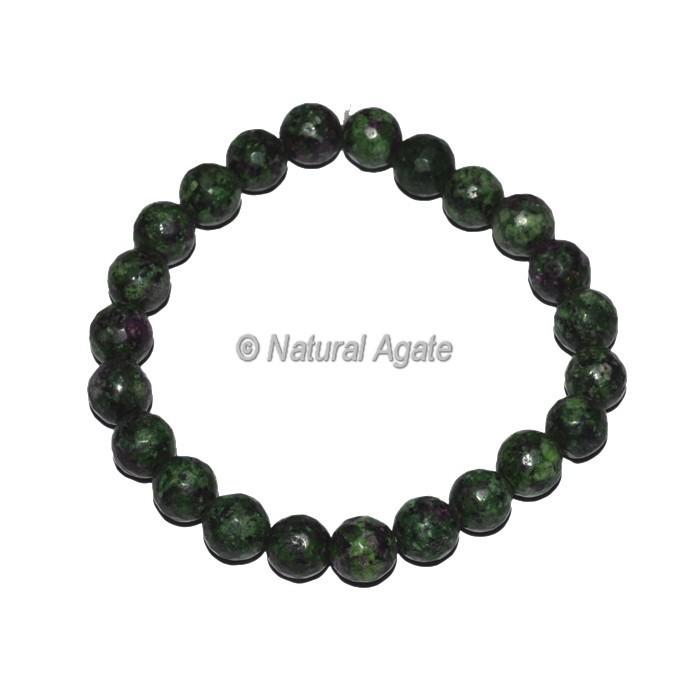 Ruby Fugsite Healing Bracelet
