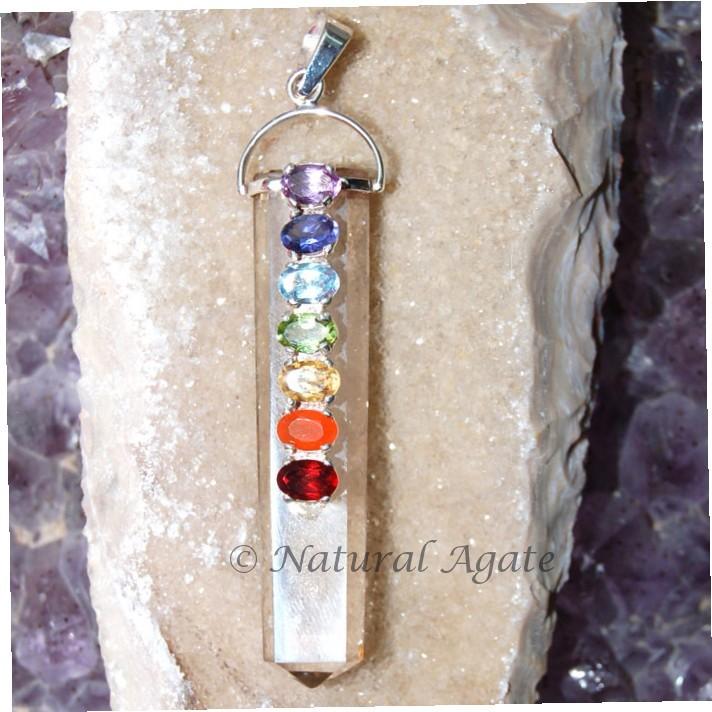 Crystal Chakra Pendant