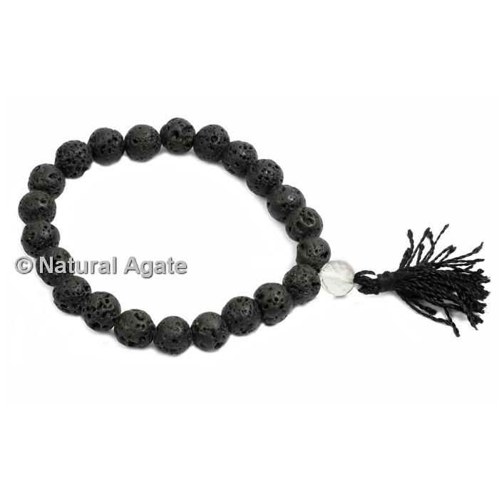 Lava Stone Healing Yoga Bracelet