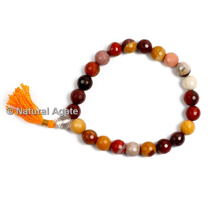 Mookaite Faceted Healing Yoga Bracelet