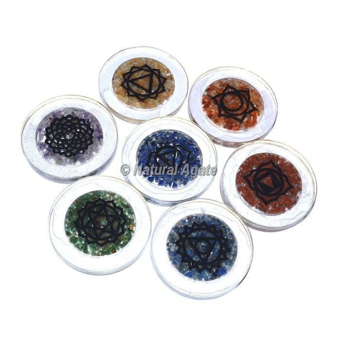 7 Chakra Coaster Set