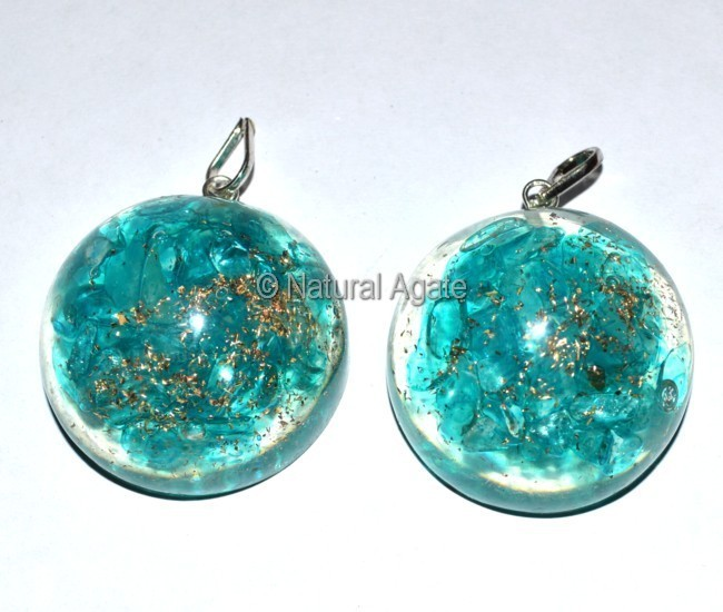 Orgone Supphire Pendants