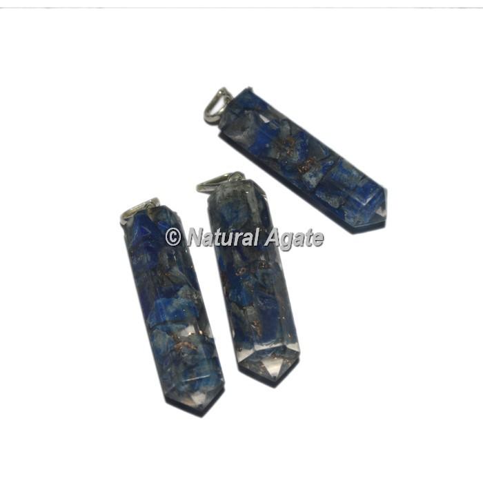 Lapis Lazuli Pencil Pendants