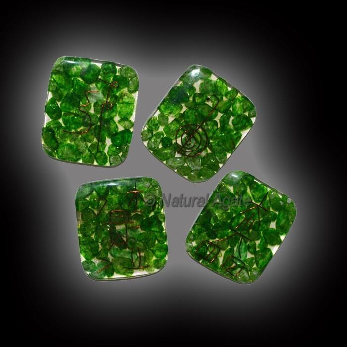 Orgone Green Jade Usui Reiki Set