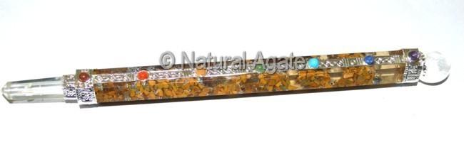 Orgone Yellow Jasper Wands Large