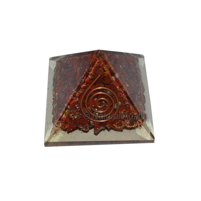 Red Jasper Orgone Pyramids