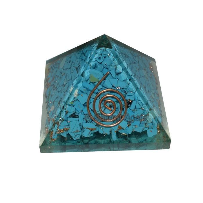 Turquoise Orgone Pyramids