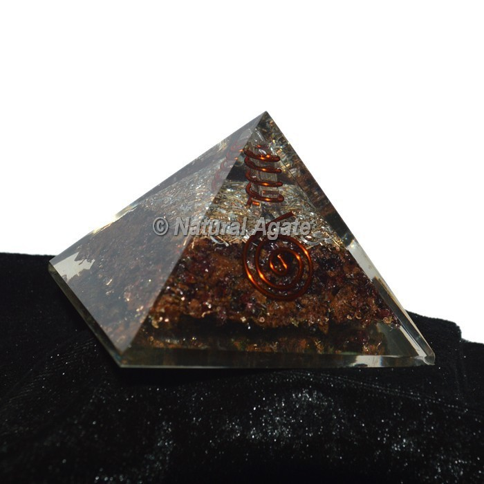 Rhodonite Orgonite Pyramid