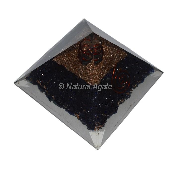 Black Tourmaline Small Orgone Pyramid