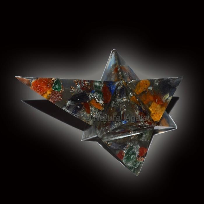 Orgone Magic Stick Star Gemstone