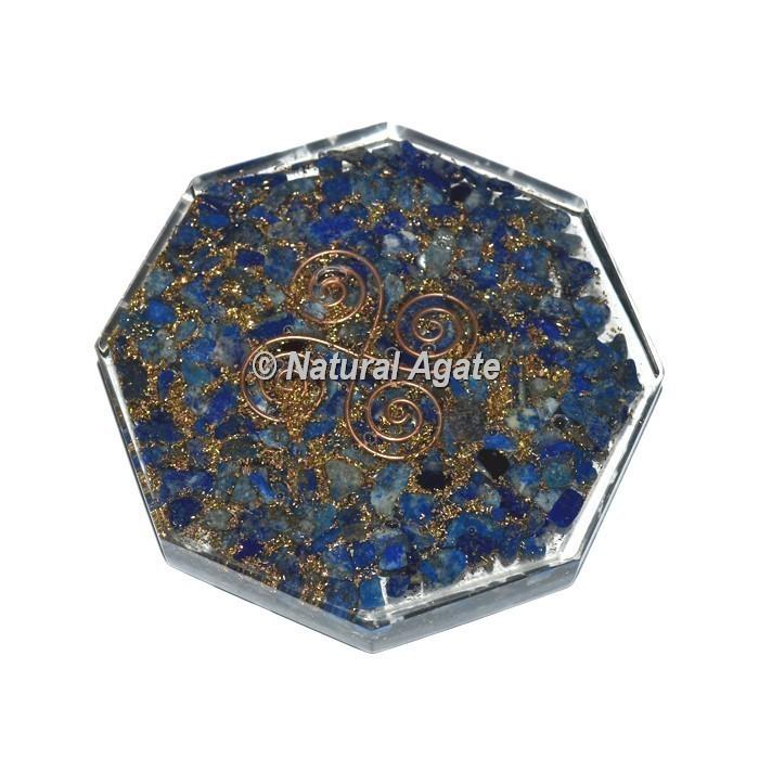Lapis Lazuli Orgone Vastu Coaster