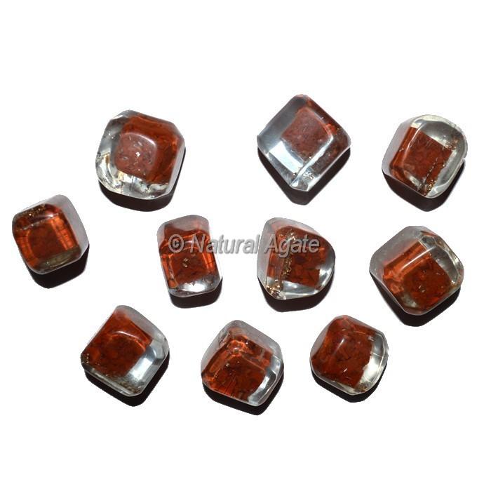 Jasper Orgonite Energy Tumbled Stones