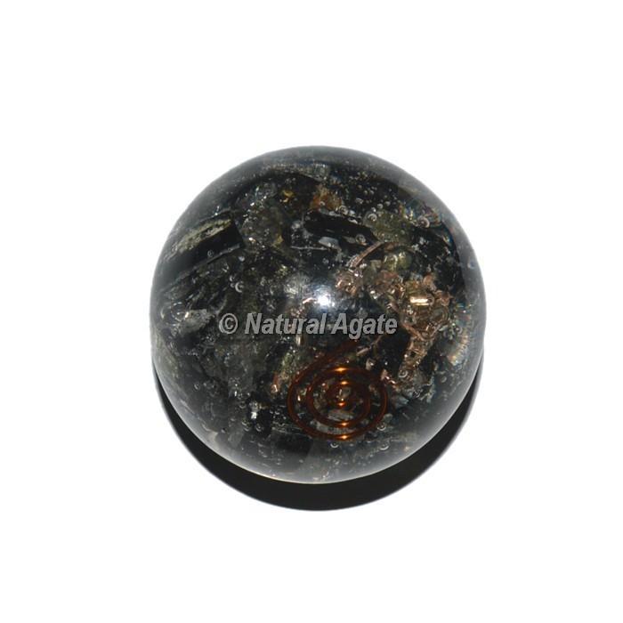 Black Tourmaline Orgone Sphere