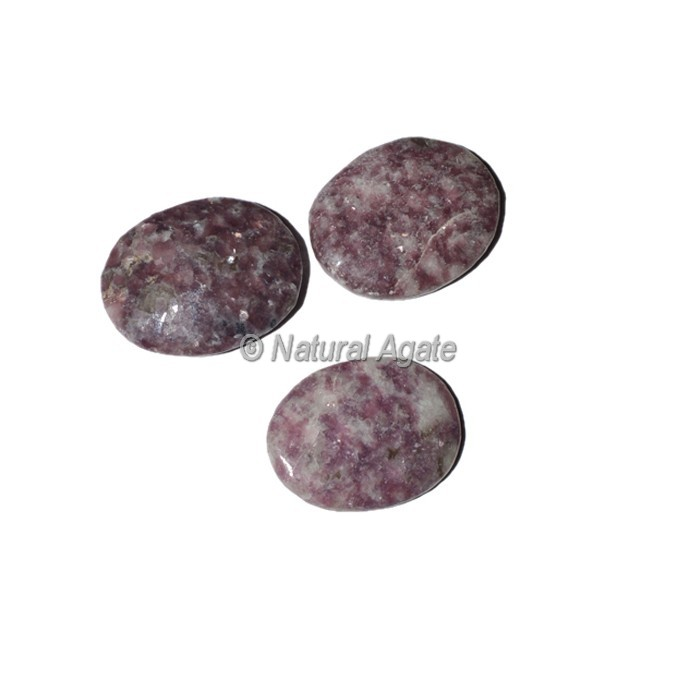 Lepidolite Oval Cabochons