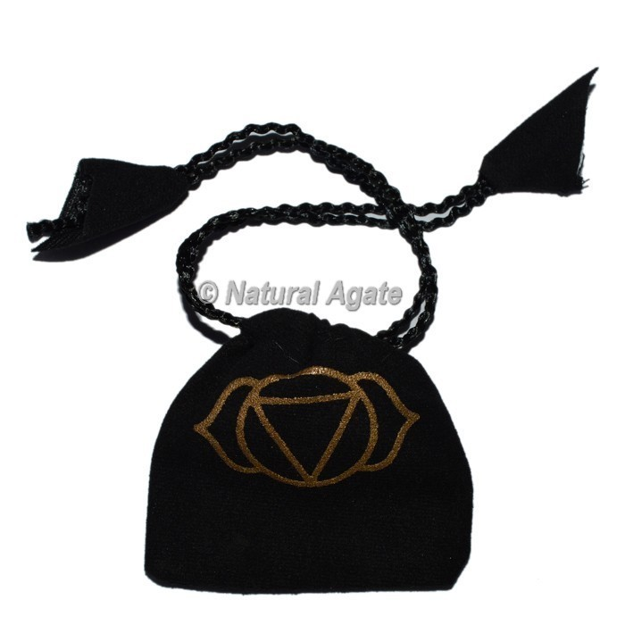 Third Eye Chakra Symbol Printed On Pouch
