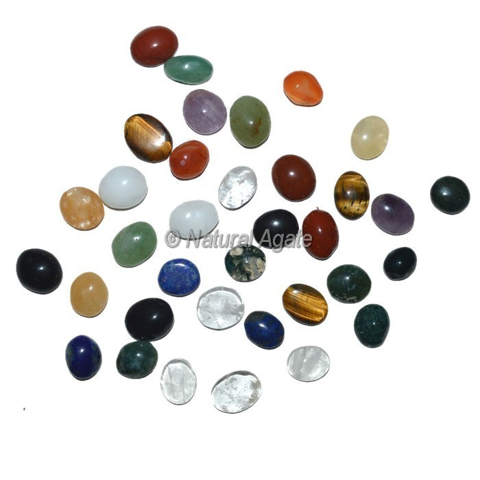 Assorted Gemstone Ring Cabochons