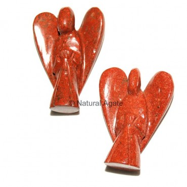 Red Jasper 2 Inches Angels