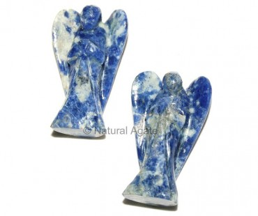 Sodalite 2 inches Angels