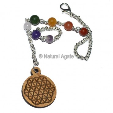 Flower of Life Chakra Chain