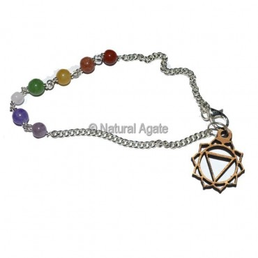 Solar Chakra Pendulum Chain