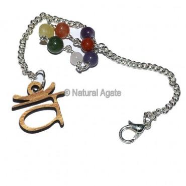 Sanskrit Abdomen Chakra Pendulum Chain