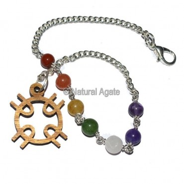 Celtic Design Chakra Chain