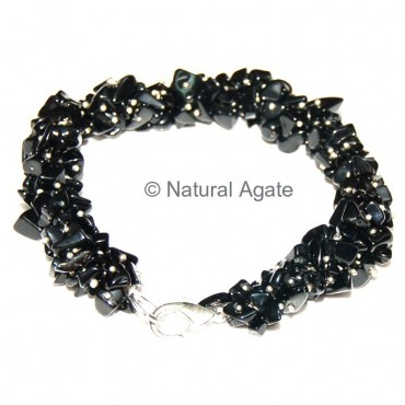 Black Agate Hand Made Necklace