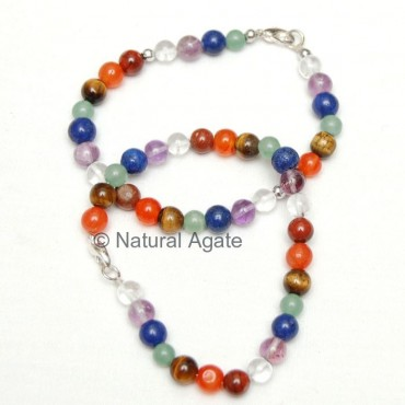 High Quality Chakra Round Beads Bracelets