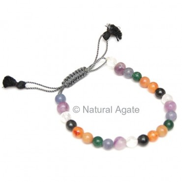 Chakra Drawstring Bracelets
