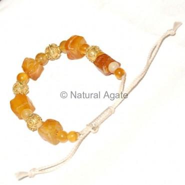 Yellow Onyx Bracelets