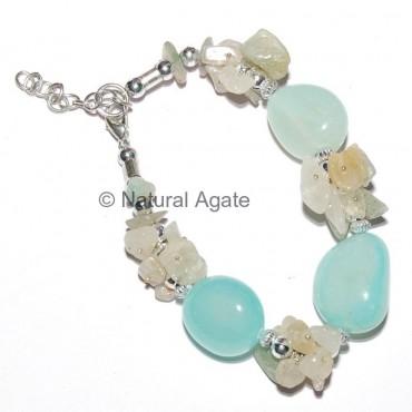 Aqva Onyx Beads Bracelet