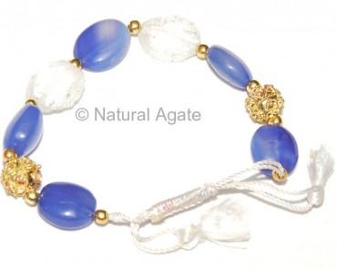 Calcedony Onyx Bracelet