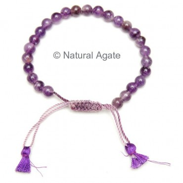 Amethyst Thread Bracelets