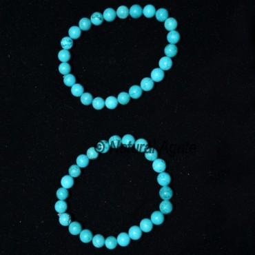 Turquoise Round Bracelets