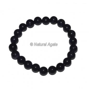 Blue Sunstone Crystal Bracelet