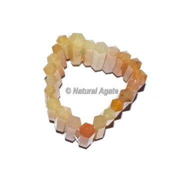 Golden Quartz Pencil Bracelets