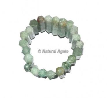 Green Aventurine Pencil Bracelets