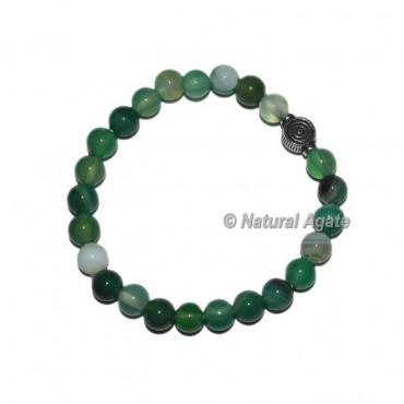 Agate Green Banded Onyx With Choko Reiki