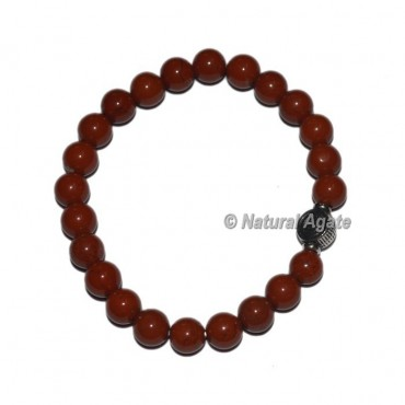 Red Jasper Gemstone Bracelets with Choko reiki