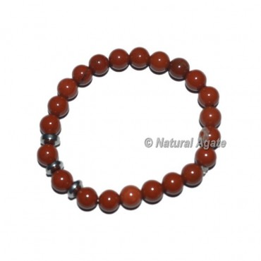 Red Jasper Gemstone Bracelets