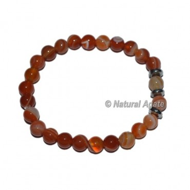 Red Carnelian Gemstone Bracelets