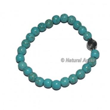 Turquoise Gemstone Bracelets with Choko Reiki