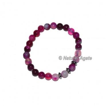 Pink Onyx Gemstone Bracelets