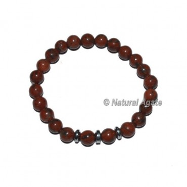 Indian Jasper Gemstone Bracelets