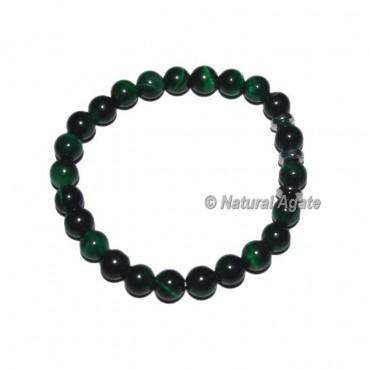Green Tiger Gemstone Bracelets
