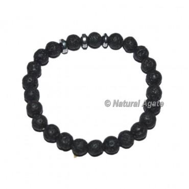 Lava Stone Gemstone Bracelets
