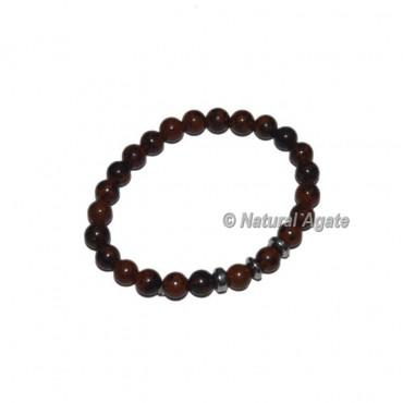 Mahagoni Obsidian Gemstone Bracelets
