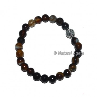 Black Onyx Gemstone Bracelets with Choko reiki